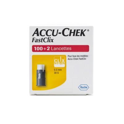 Lancettes Accu-Chek FastClix (102)