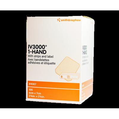 Pansement adhésif transparent IV3000 (100/bte)