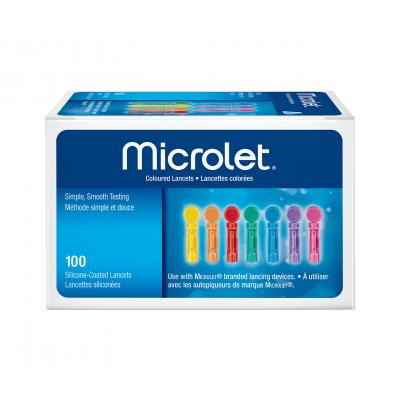 Lancettes Microlet (100)